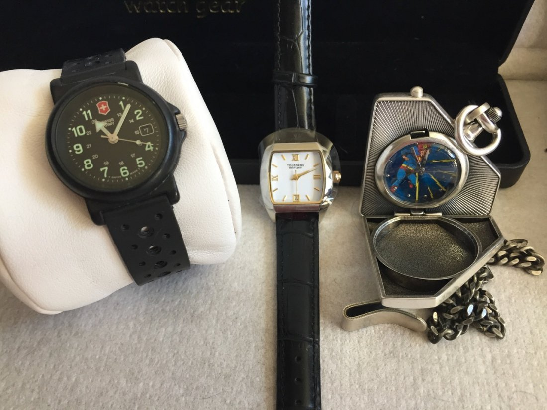 Swiss Army, Superman & Tourneau Boxed Watches (3) - 2