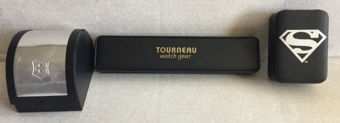 Swiss Army, Superman & Tourneau Boxed Watches (3) - 3