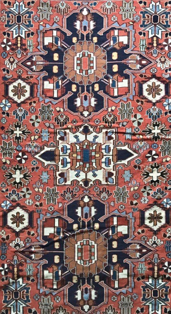 "Semi-antique Handwoven Persian Rug, 75"" x 46.5"" - 2"