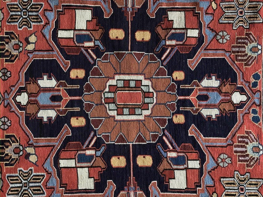 "Semi-antique Handwoven Persian Rug, 75"" x 46.5"" - 3"