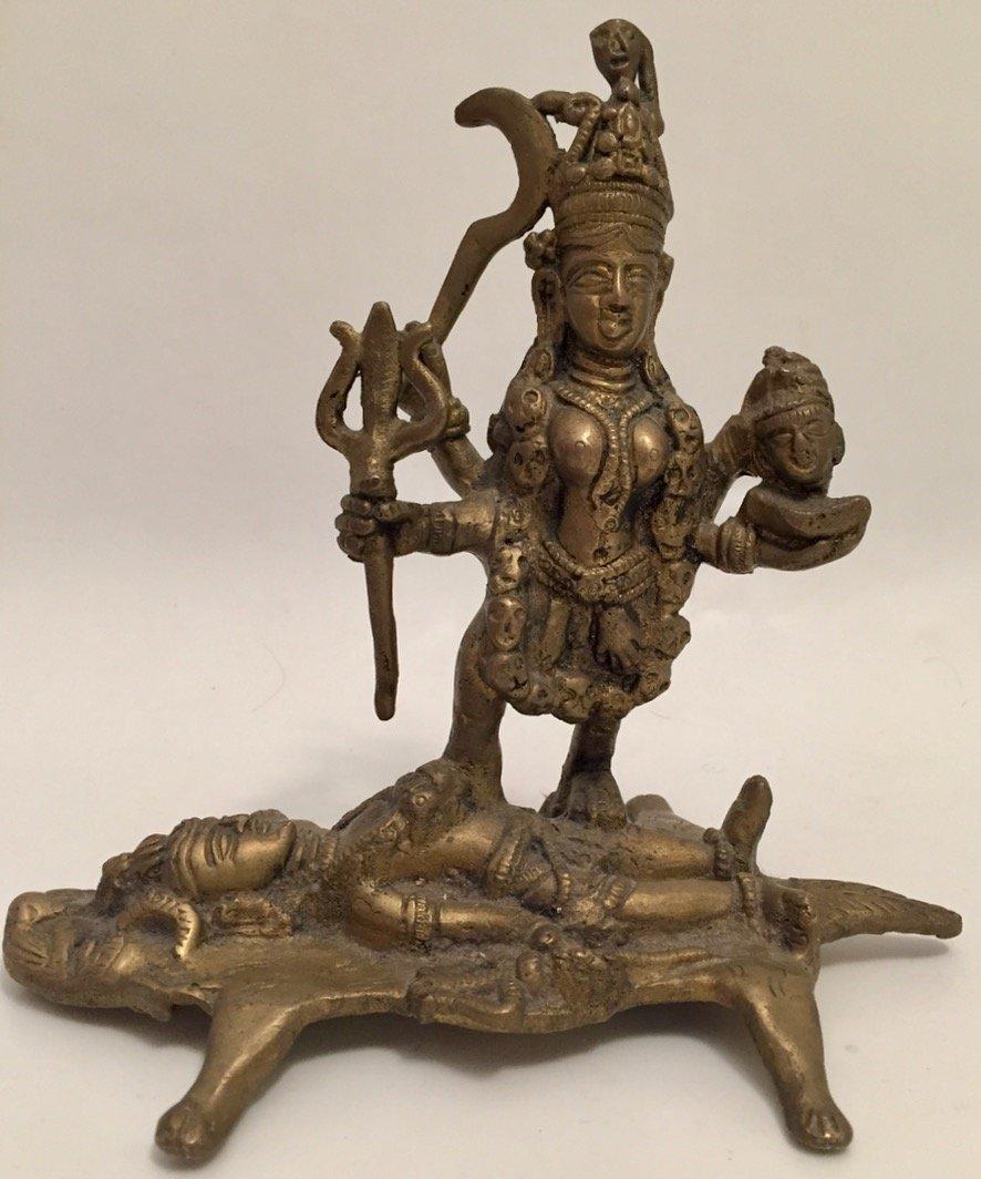 Hindu Deity Statue, Kali & Shiva