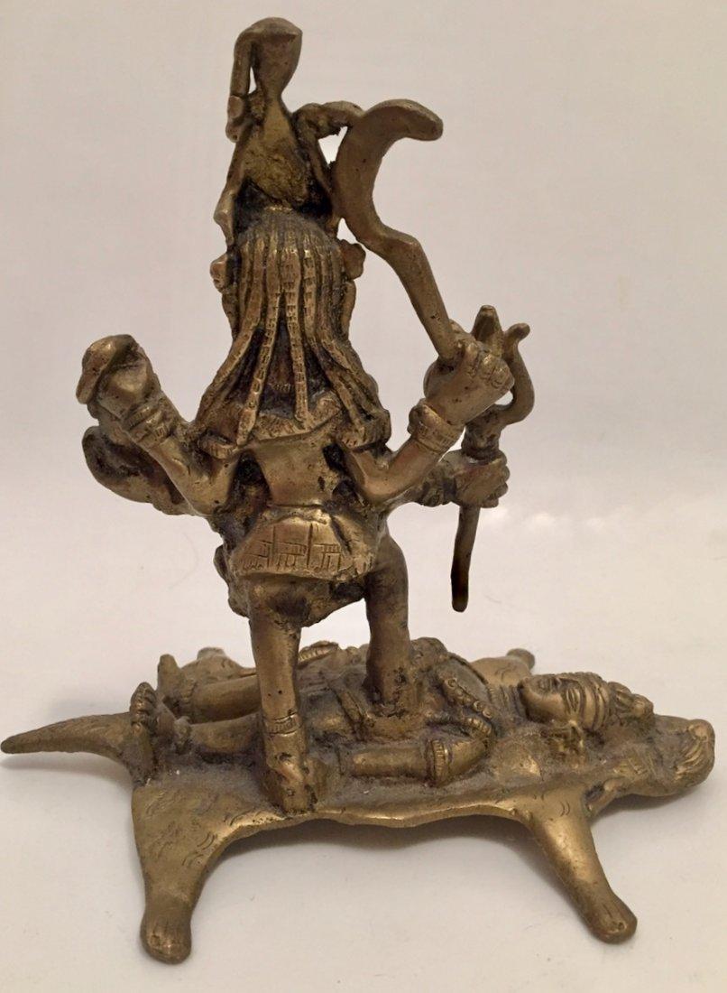 Hindu Deity Statue, Kali & Shiva - 2