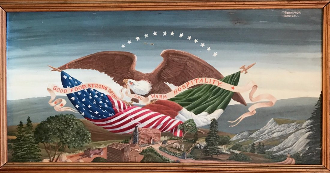 Brian Mor O' Baoighill (1939-2012)American Oil Painting