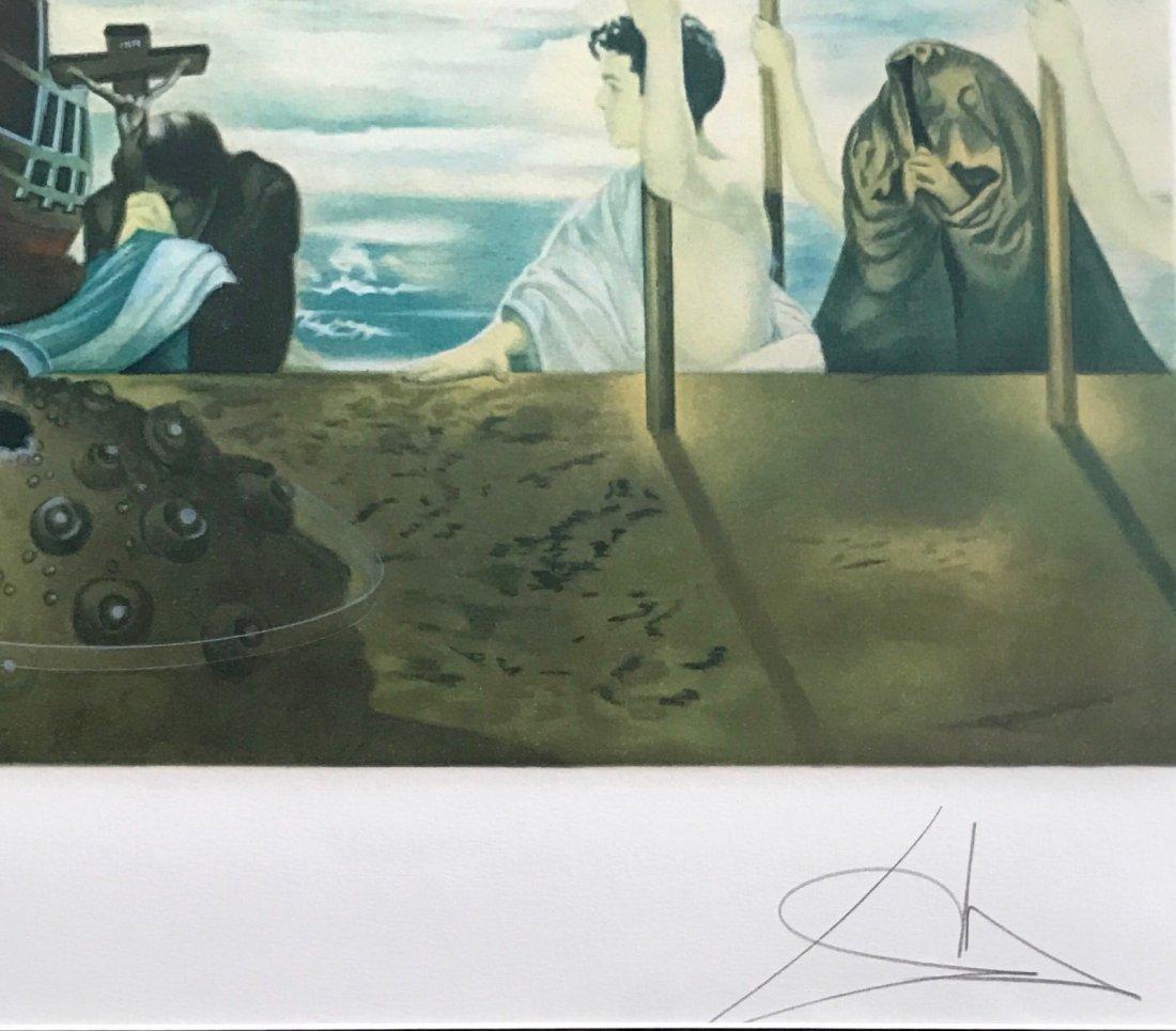 "Salvador Dali ""Columbus Discovers America"" 1962 - 2"