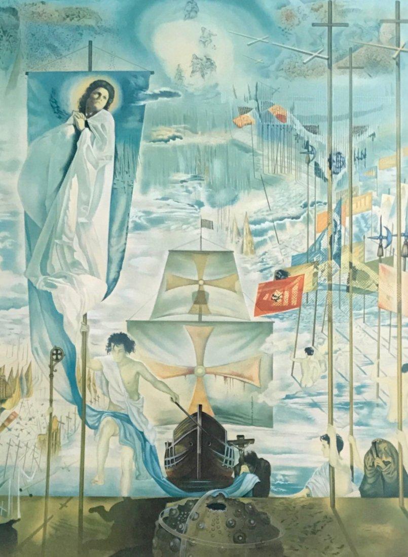 "Salvador Dali ""Columbus Discovers America"" 1962 - 3"