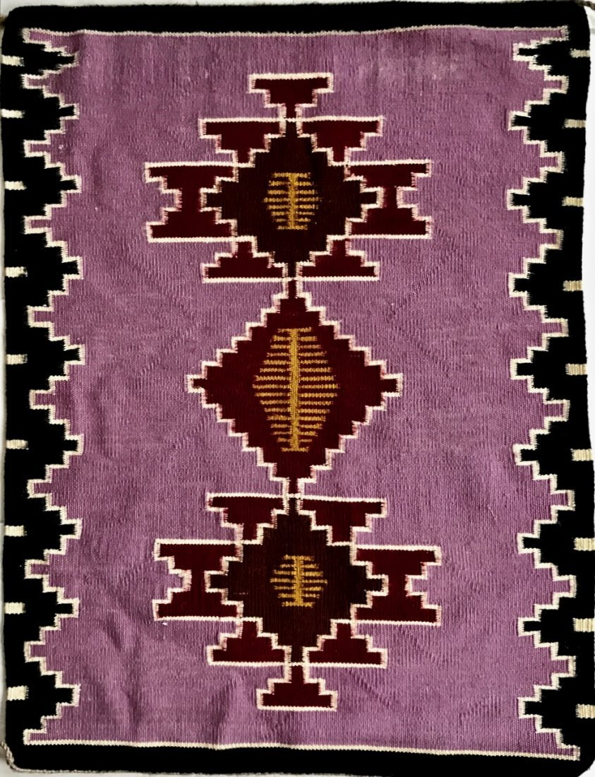 Native American Indian Navajo Rug:  3' x 2' 4""