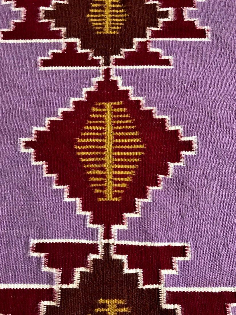 "Native American Indian Navajo Rug:  3' x 2' 4"" - 2"