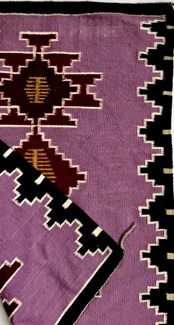 "Native American Indian Navajo Rug:  3' x 2' 4"" - 3"