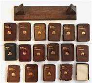 Miniature Book Set, Shakespeare Collection,1920's