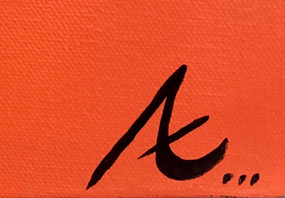 """Kanye West """"PABLO"""" Day-Glo Painting, Signed - 2"""