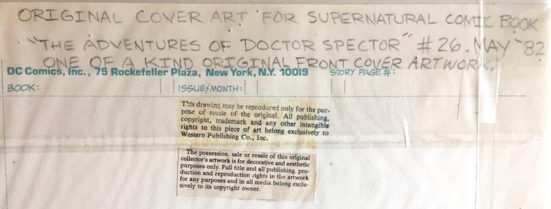 Dr. Spektor Original Comic Cover Art, Occult Files - 3
