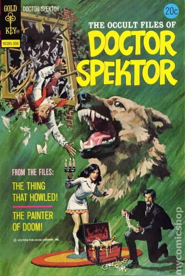 Dr. Spektor Original Comic Cover Art, Occult Files - 4