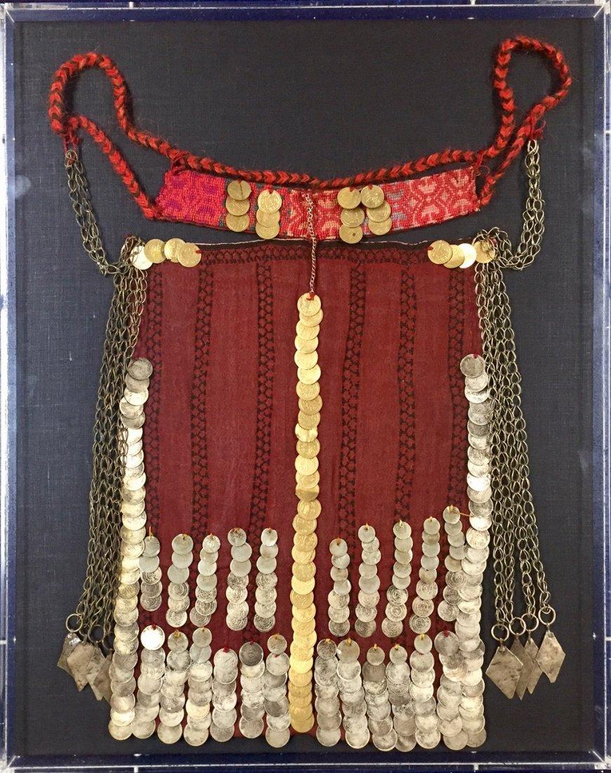 "Ottoman Wedding Headdress or ""Money Hat"""