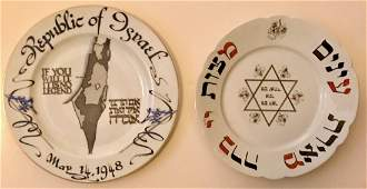 Judaica: Hutschenreuther & Rosenthal Porcelain