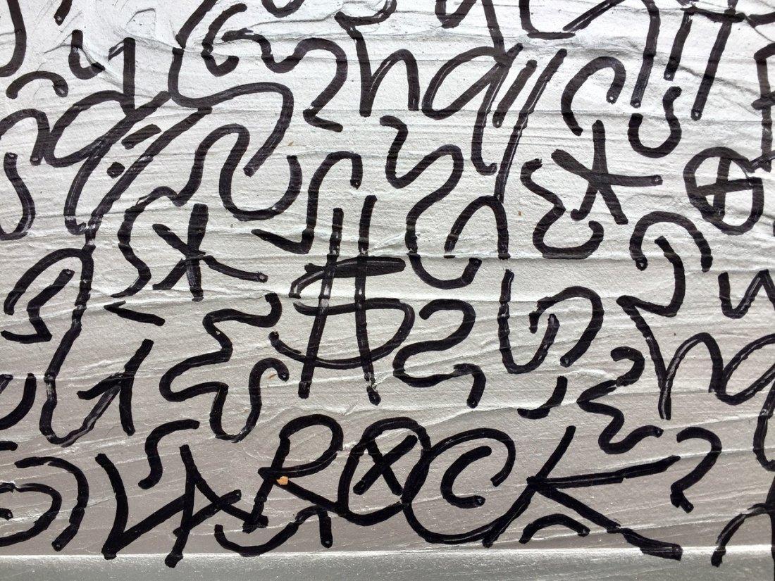 """La II (Angel Ortiz) Urban Graffiti Painting, """"LAROC"""" - 4"""