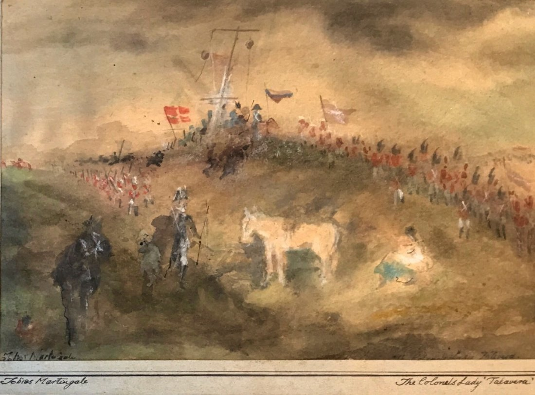 "Battle of Talavera ""The Colonel's Lady"" T. Martingale"