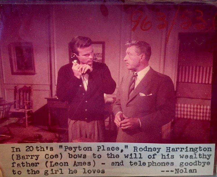 Peyton Place 1953 Camera Negatives, J.Mitchell (24)
