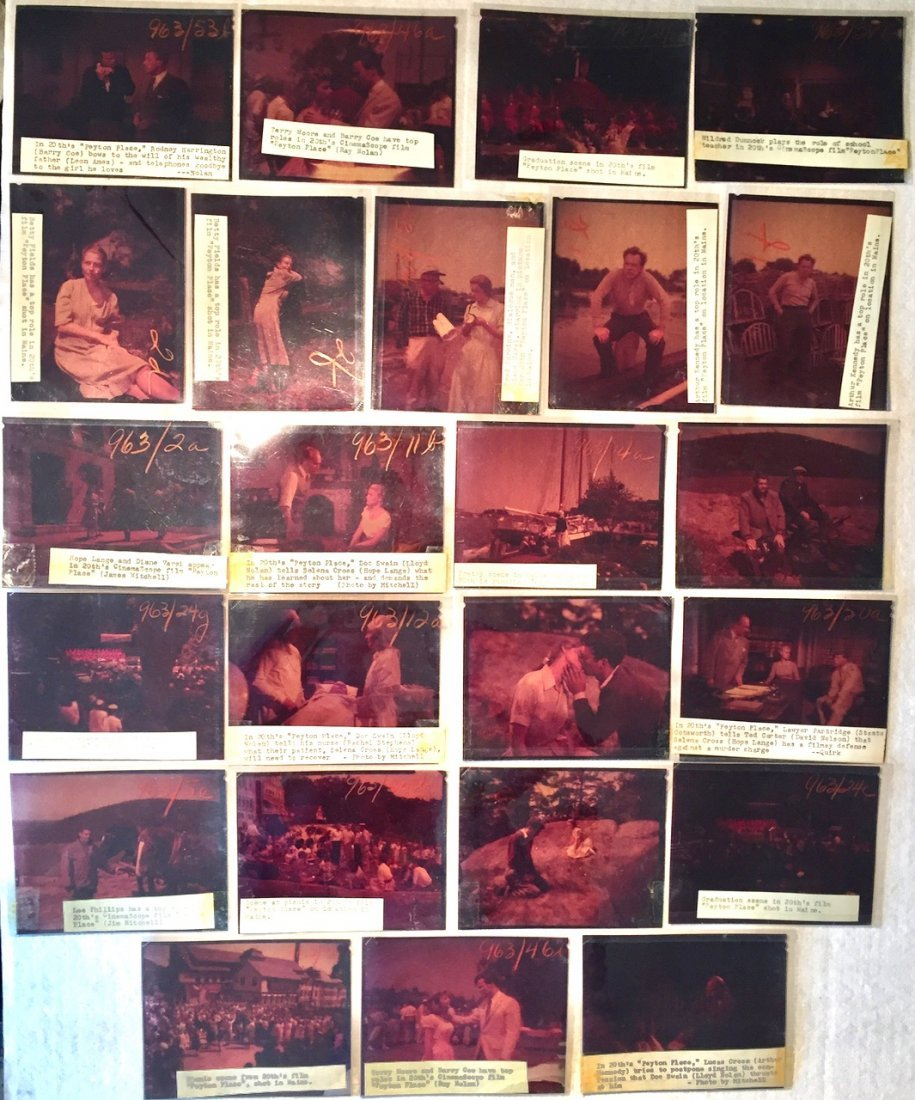 Peyton Place 1953 Camera Negatives, J.Mitchell (24) - 2