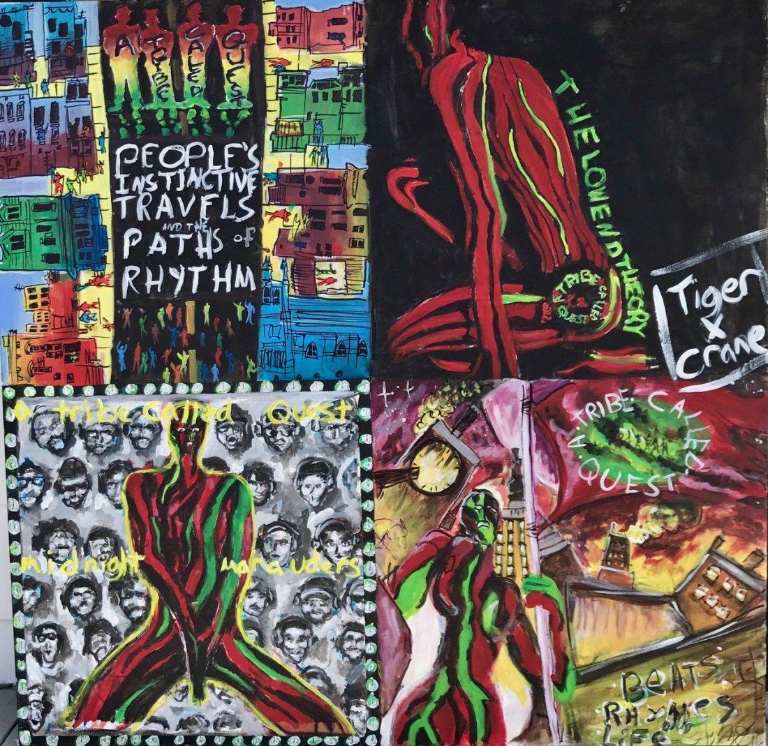 A Tribe Called Quest Original Hip-Hop Album Cover Art