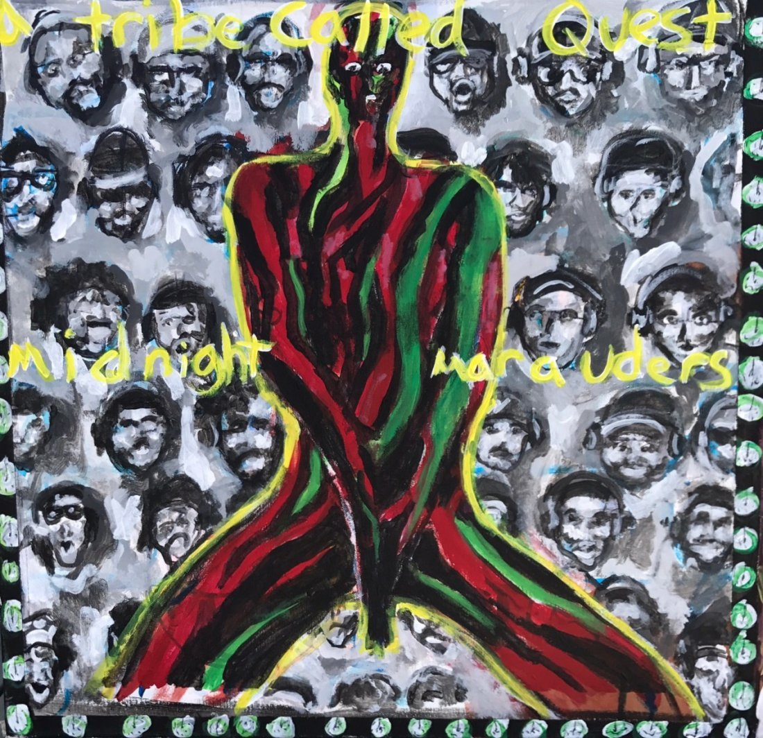 A Tribe Called Quest Original Hip-Hop Album Cover Art - 5