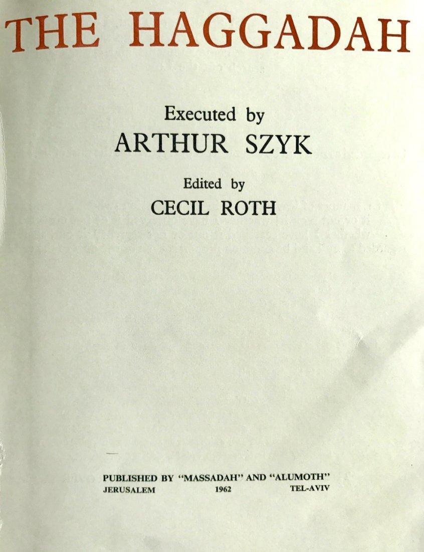 The Haggadah, Arthur Szyk and Cecil Roth, 1962 - 2