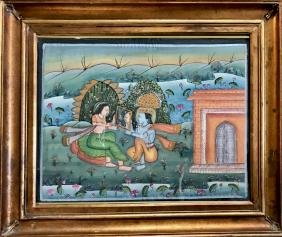 Indo-Persian Painting, Royal Couple