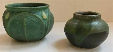 American Studio Art Pottery Vases, S. Frederick (2)