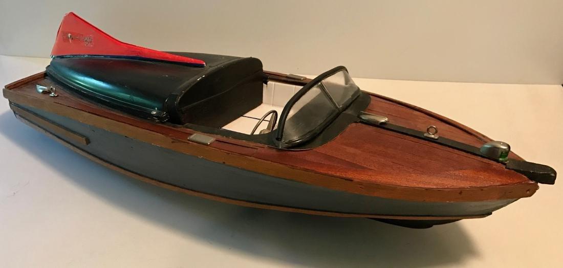 Chris Craft Model Boat, Cobra