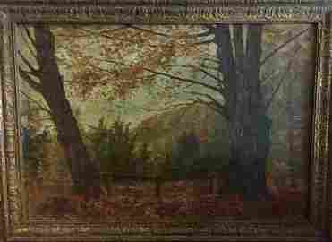 Alexander Helwig Wyant (American,1836-1892) Landscape