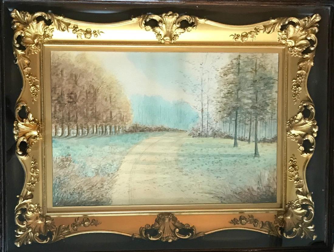 Impressionist Landscape Painting, H. Moore