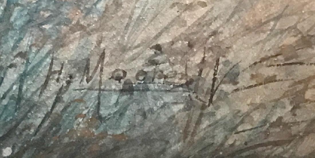 Impressionist Landscape Painting, H. Moore - 2