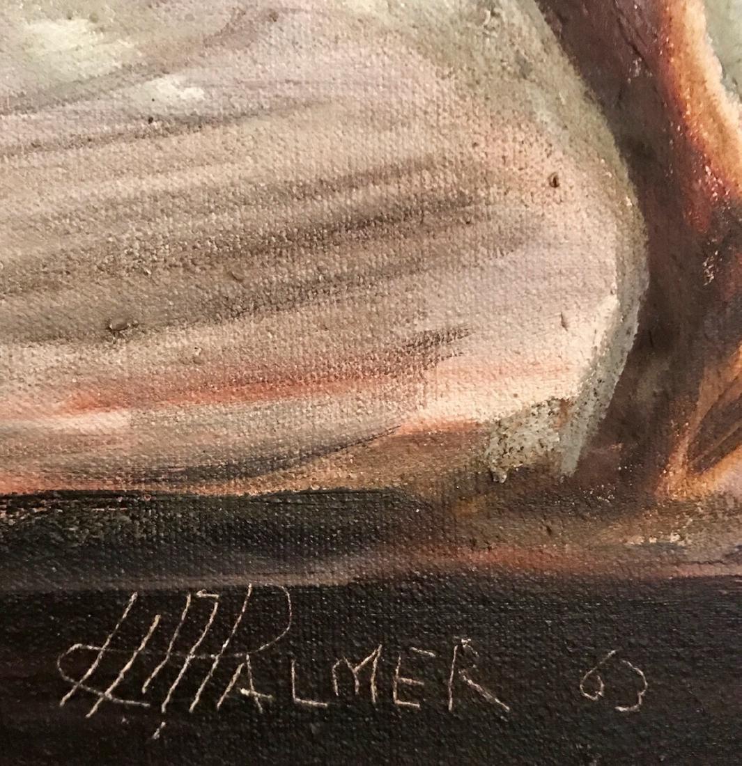 "H. A. Palmer Painting ""Falmouth Jamaica"" - 2"