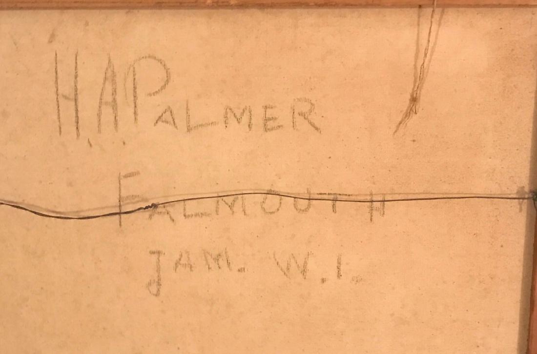 "H. A. Palmer Painting ""Falmouth Jamaica"" - 4"