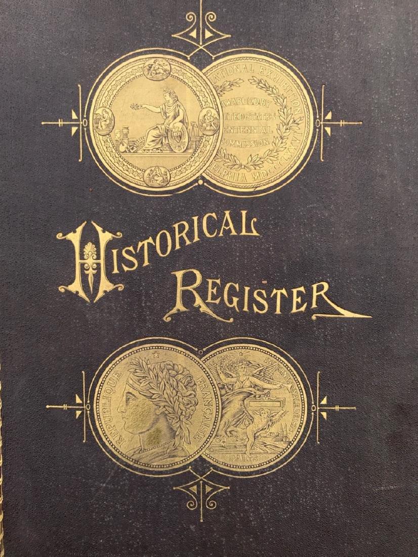 Historic Register Of The Centennial Exhibition, Norton
