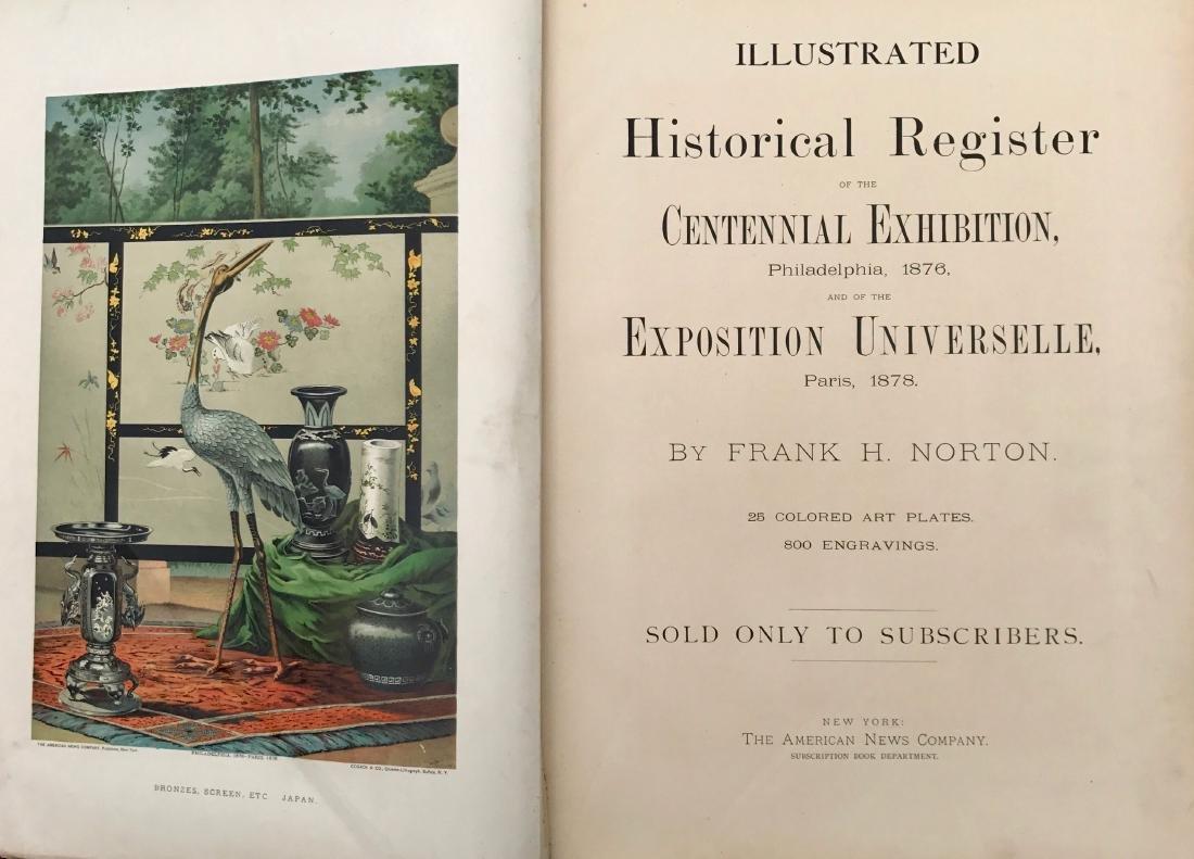 Historic Register Of The Centennial Exhibition, Norton - 2