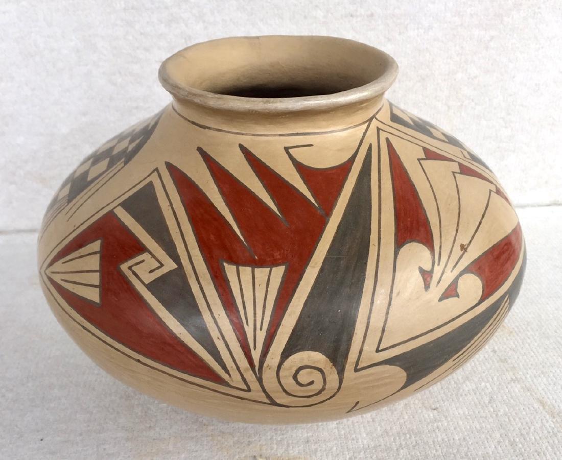 Mata Ortiz Polychrome Pottery Vessel, Quezada
