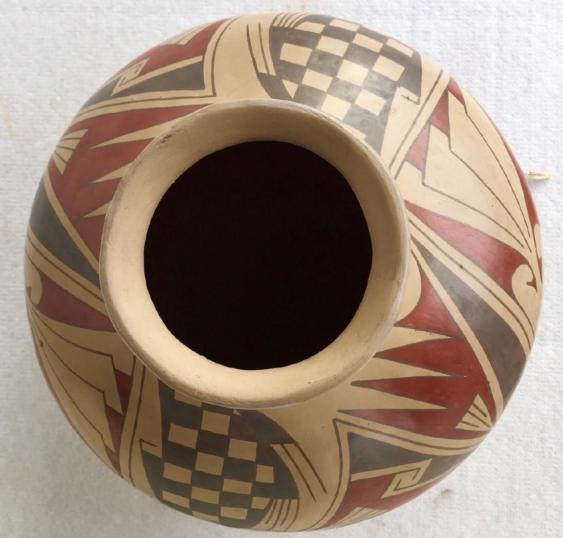 Mata Ortiz Polychrome Pottery Vessel, Quezada - 2