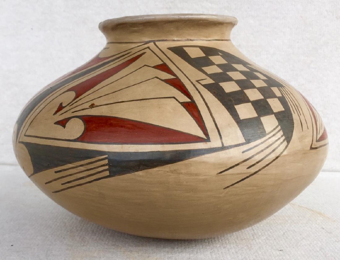 Mata Ortiz Polychrome Pottery Vessel, Quezada - 4