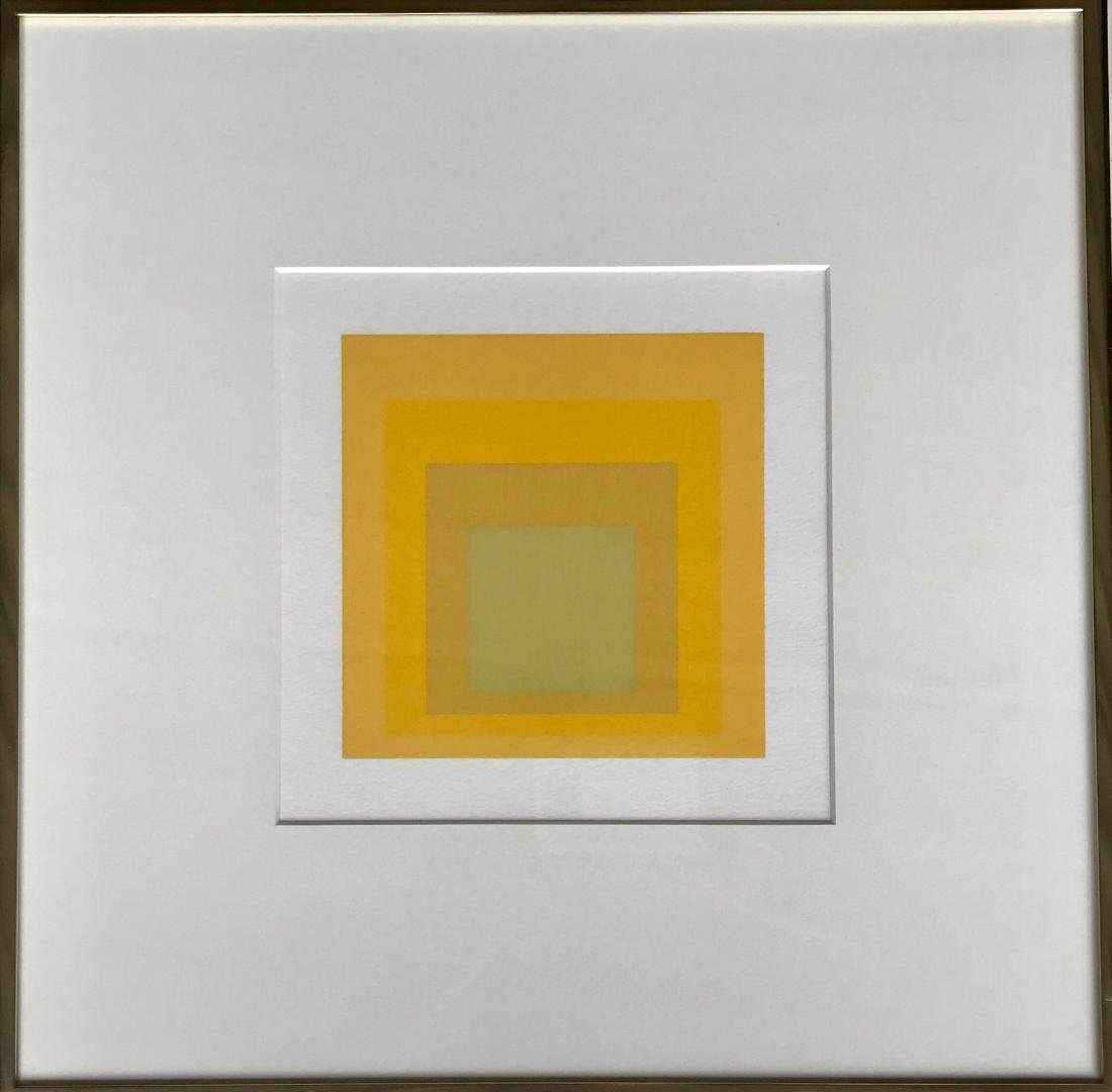 Josef Albers, Homage To The Square Silkscreen