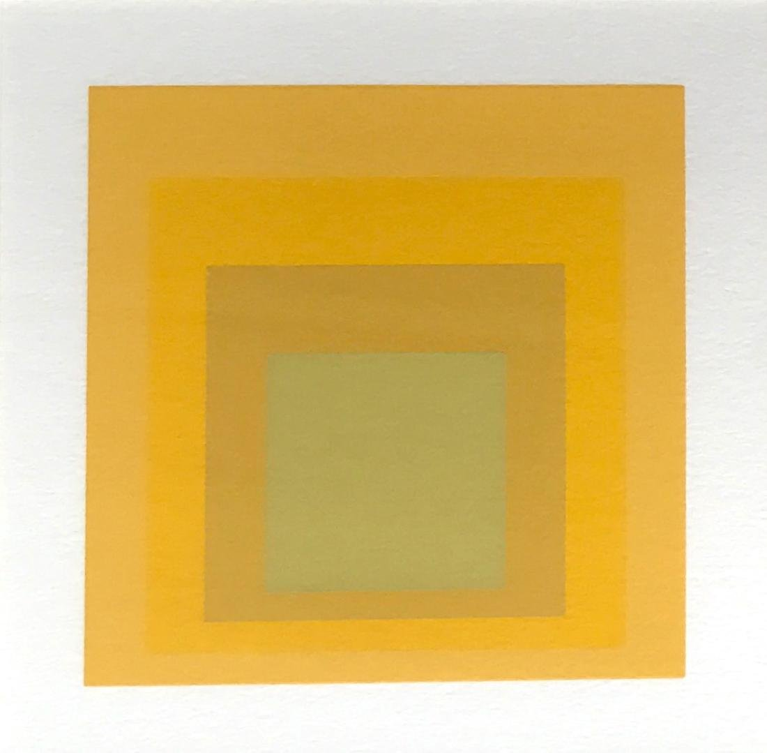 Josef Albers, Homage To The Square Silkscreen - 2