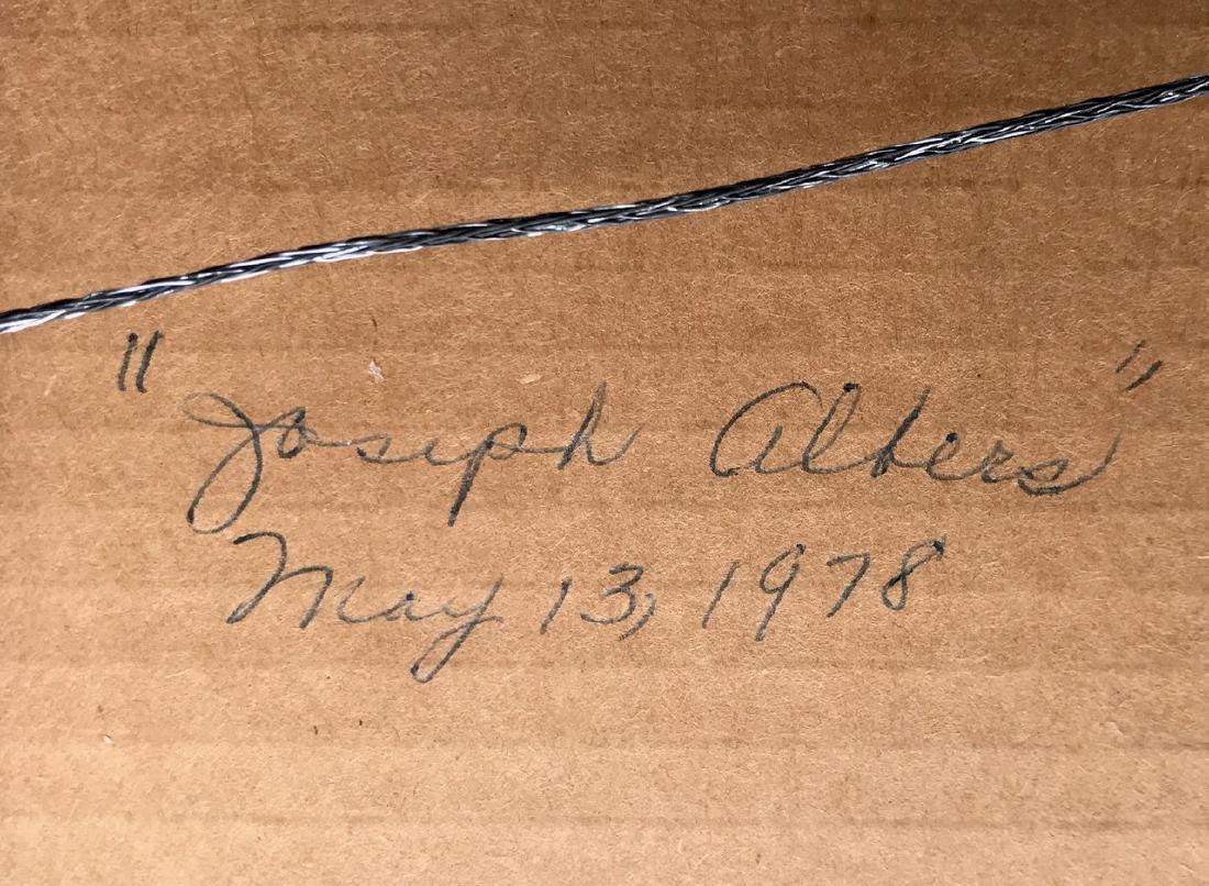 Josef Albers, Homage To The Square Silkscreen - 3