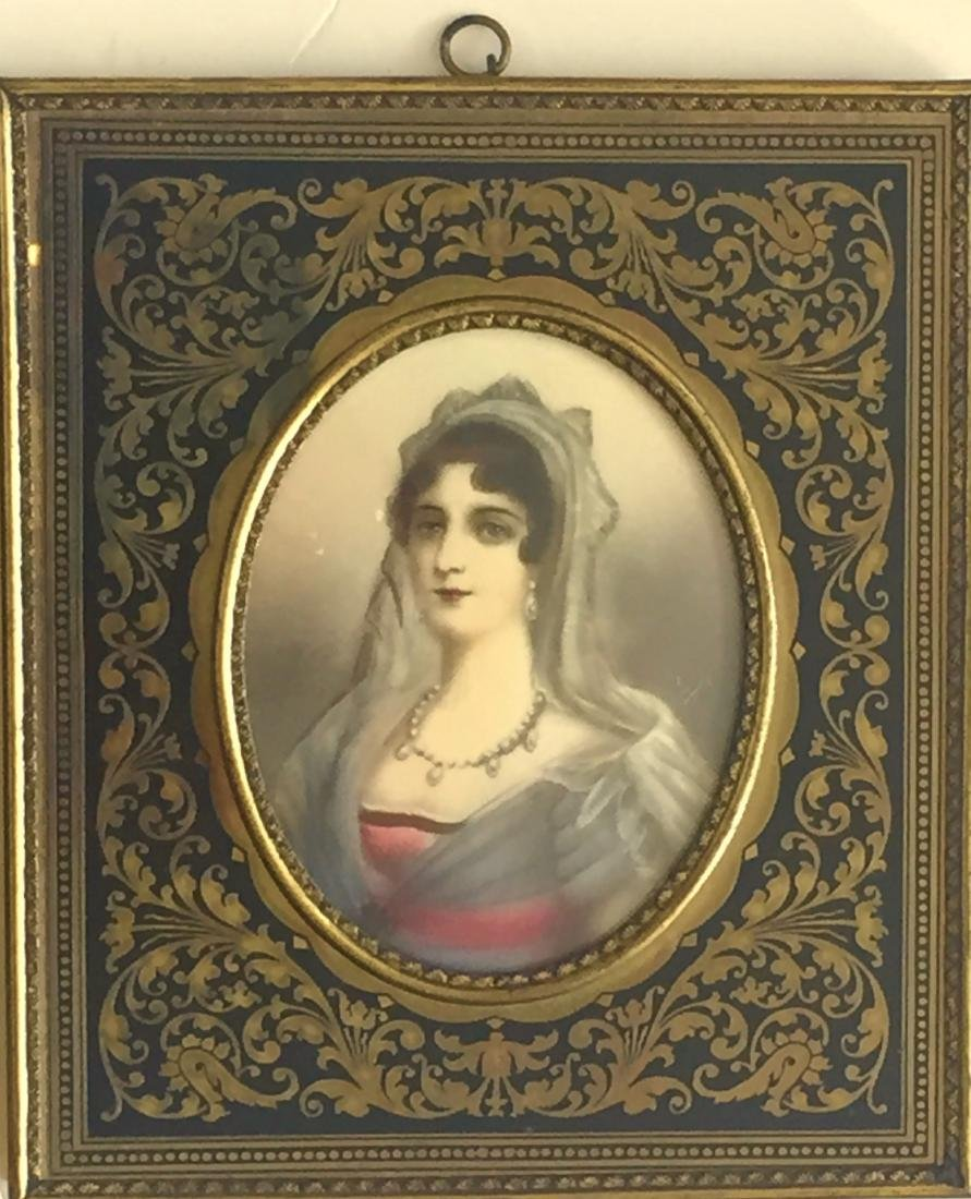 19th C. Miniature Paintings, E. Bonaparte & L. Montez - 3