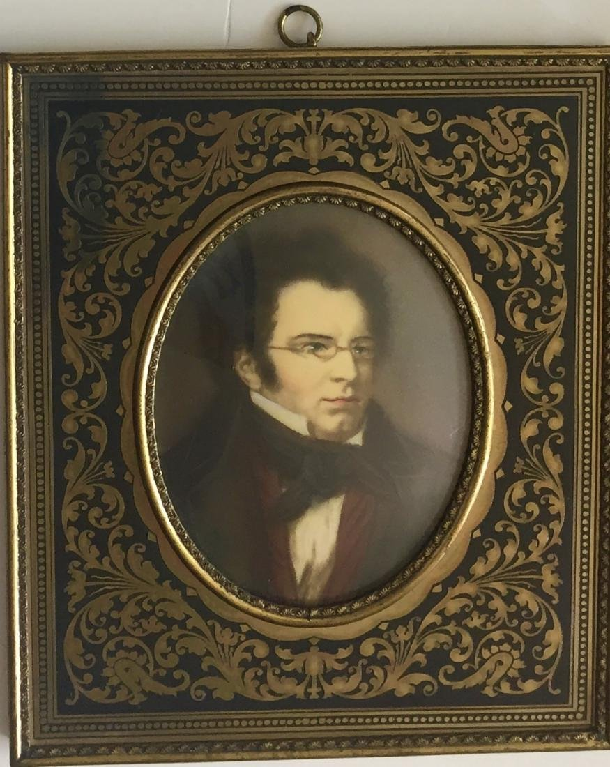 19th C. Miniature Paintings, Wagner & Schubert - 2
