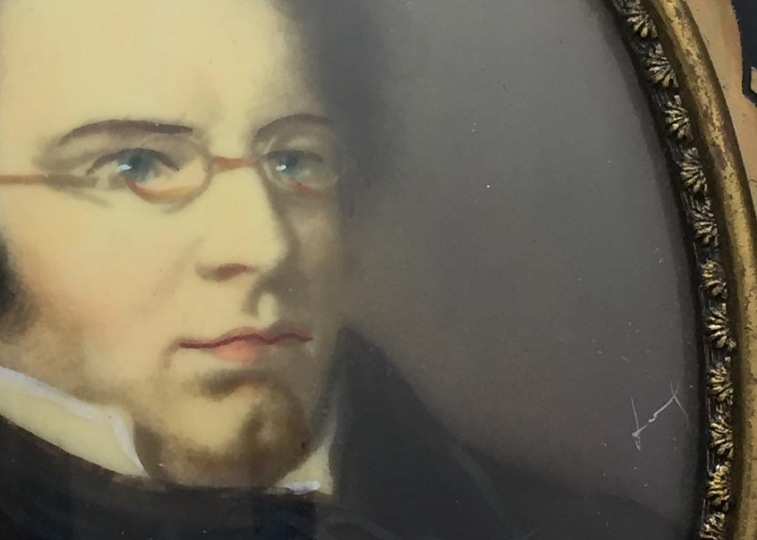 19th C. Miniature Paintings, Wagner & Schubert - 3