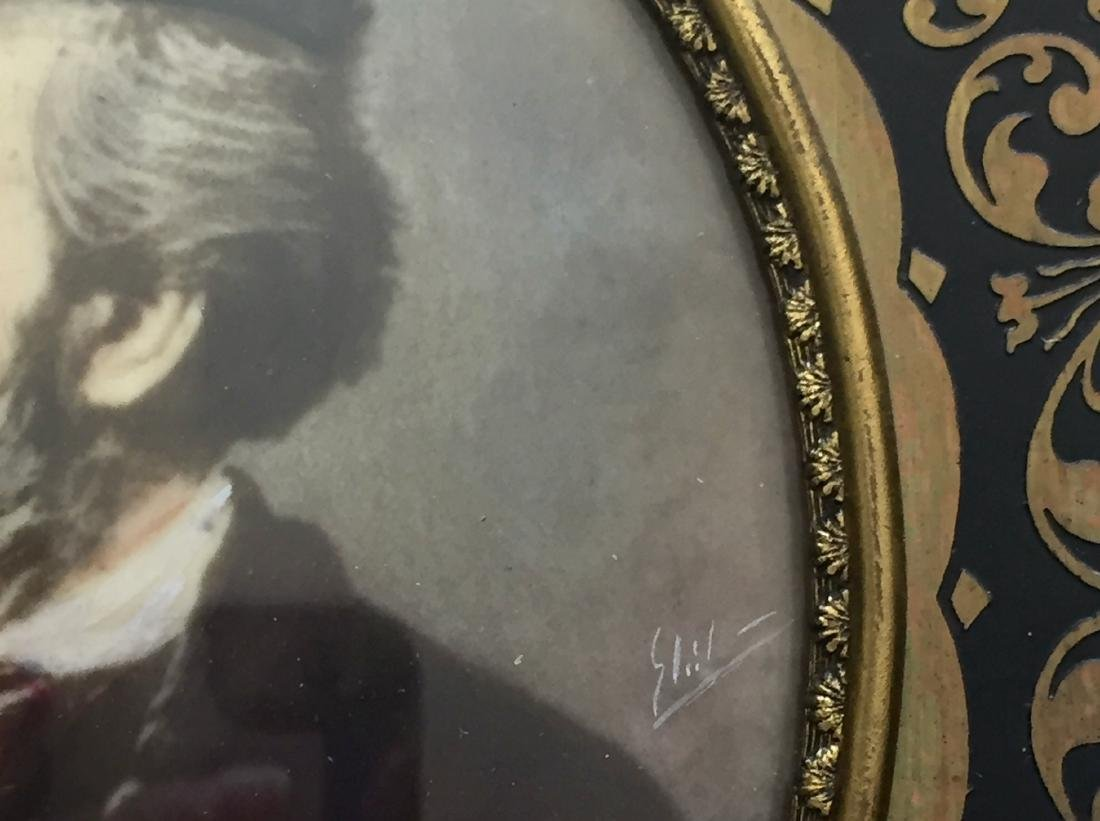 19th C. Miniature Paintings, Wagner & Schubert - 5
