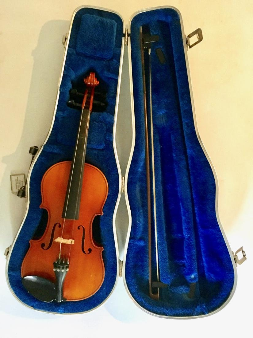 Nagoya Suzuki Violin, In Hard Case With Bow - 3