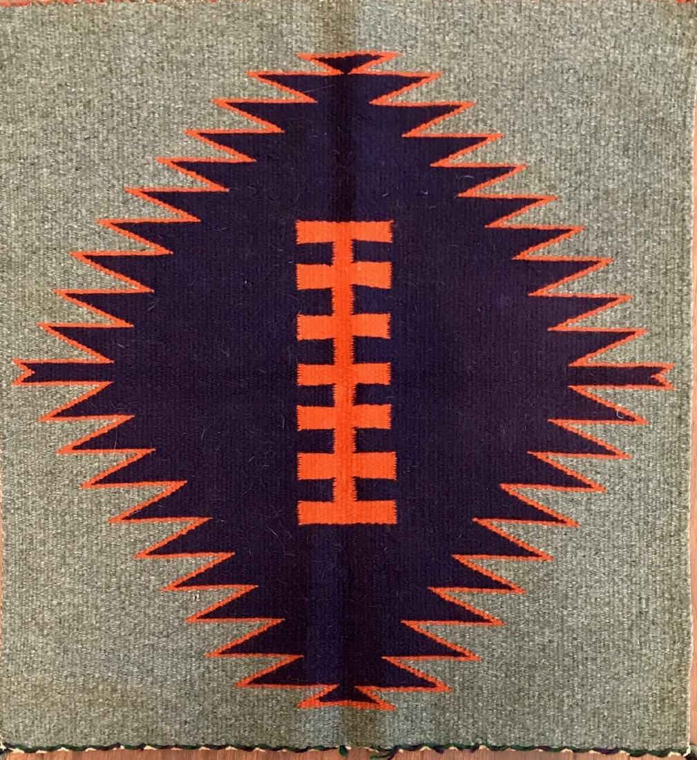 Early Navajo Indian Rug / Weaving