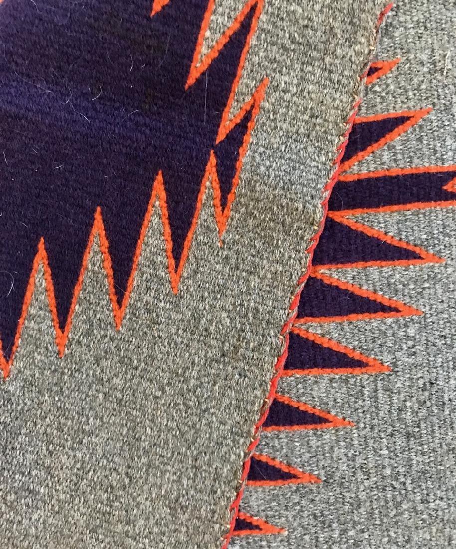 Early Navajo Indian Rug / Weaving - 3