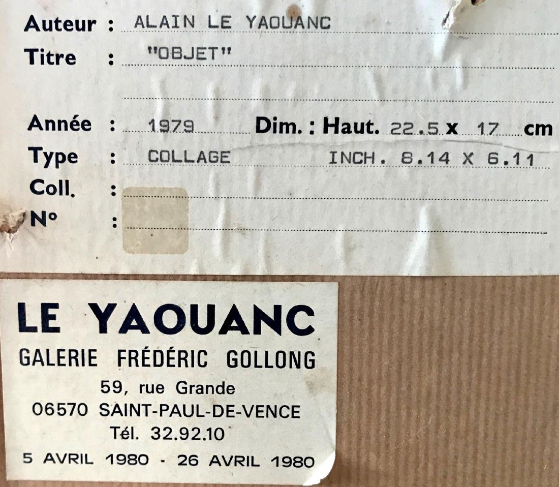 Alain Le Yaouanc Constructive Composition Collage, 1979 - 3