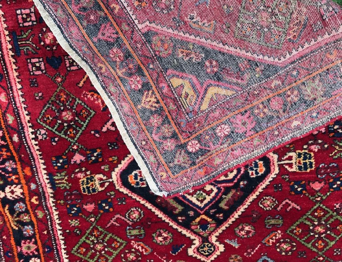 "Semi-Antique Hand Woven Persian Rug, 7'4"" - 2"